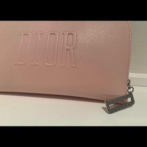 Dior Small Clutch, Makeup bag. Blush pink!…